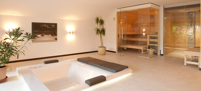 Beautiful wellness badezimmer ideen gallery house design - Sauna im badezimmer ...